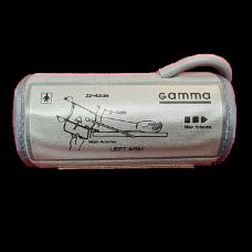 Манжета Gamma для электронных тонометров 22-42 см жесткая (Smart, Semi Plus)