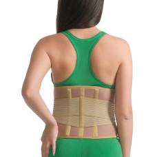 Корсет ортопедический (согревающий, с 3 ребрами жесткости) MedTextile (арт.3041)
