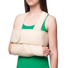 Бандаж на плечевой сустав согревающий (повязка Дезо) MedTextile (арт. 8012)