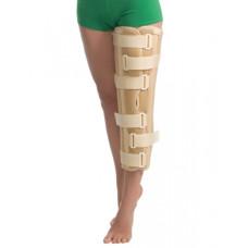 Бандаж на коленный сустав с ребрами жесткости 6112 MedTextile размер S