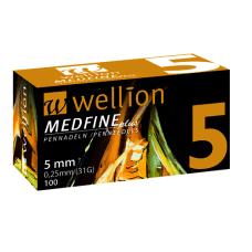 Универсальные иглы Wellion Medfine plus для инсулиновых шприц-ручек 5мм (31G x 0,25 мм) 100шт