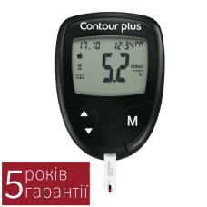 Глюкометр Контур Плюс (Contour Plus) + 25 тест-полосок (5016003761409)