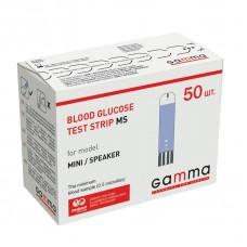 Тест-полоски Gamma MS (Mini) 50 штук. Стоимость приятно радует!