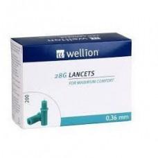 Ланцеты Wellion 28G, 200 шт.