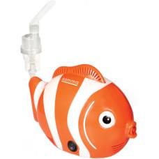Компрессорный ингалятор Gamma Nemo. Небулайзер в виде рыбки.
