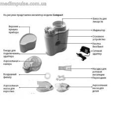 Мундштук для ротовой ингаляции Dr.Frei Compact