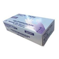 Перчатки латексные припудренные  PROTECT 100 шт/уп 5,5г
