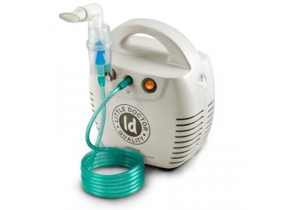 Небулайзер Little Doctor LD-211C белый - компрессорный ингалятор для детей и взрослых!