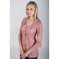 Медицинская Одежда - Блуза Элегия (Пыльная роза)