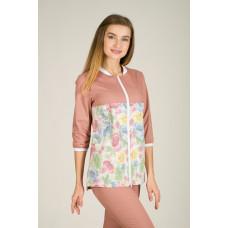 Медицинская Одежда - Блуза Скарлетт (Пудра)