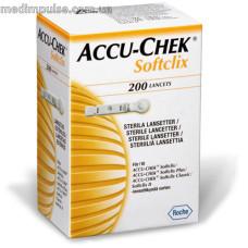 Ланцеты Акку Чек (Accu-Chek) Softclix, 200 шт.