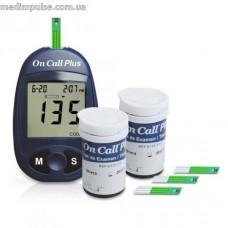 Глюкометр On Call Plus + 50 тест-полосок. Акция!!!