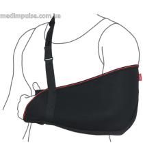Бандаж для руки поддерживающий (косынка) (арт. R9103) чёрный