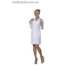 Женский медицинский халат 46