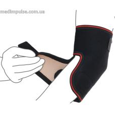 Бандаж на локтевой сустав разъемный (арт. R9205) чёрный, серый