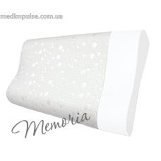 Ортопедическая подушка с эффектом памяти (форма легкой волны) Memoria (арт. P101) 495 x 330 x 110 мм