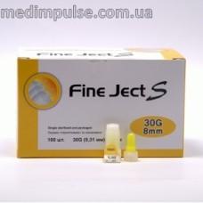 Инсулиновые иглы Fine Ject (Файн Джект) 8 мм
