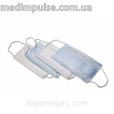 """Маска медицинская одноразового использования """"MEDICARE"""" с петлями (нетканое полотно)"""