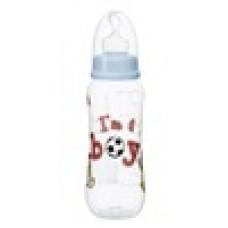 Бутылочка для мальчиков I am a boy, 250 мл. стандартное горлышко - bibi