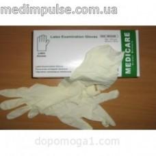 Перчатки смотровые латексные нестерильные-100шт. в упаковке