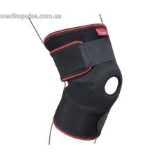Бандаж на коленный сустав разъемный ReMed R6102 чёрный (34-47см)