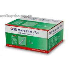 Шприци BD Micro-Fine Plus 1 мл U-40 30G 8mm, 10 шт/уп