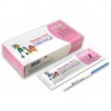 Тест для определения овуляции HomeTest №5+1 тест-полоска на беременность в подарок