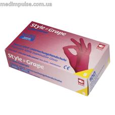 Перчатки STYLE GRAPE нитриловые без пудры