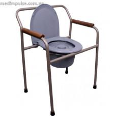 """Стул-туалет с санитарным оснащением MED-04-005 """"Премиум"""" нерегулируемое по высоте"""