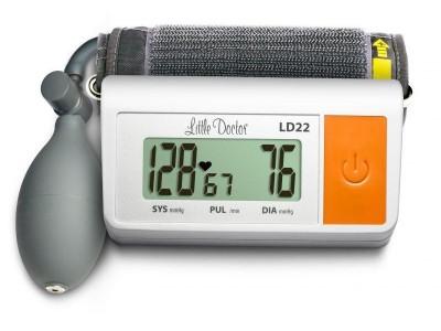 Тонометр полуавтоматический на плечо Little Doctor LD-22, манжета 25-36 см