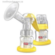 Молокоотсос механический + запасная бутылочка Dr.Frei GM-1