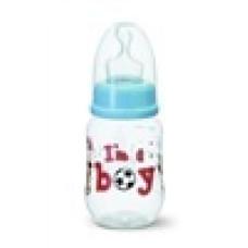 Бутылочка для мальчиков I am a boy,125 мл. bibi (Швейцария)