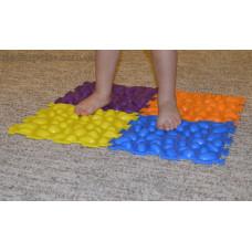 Детский массажный ортопедический коврик Пазл 2-модульный