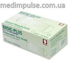 Маска защитная BASIC PLUS 3-слойная с ушными петлями