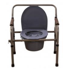 Стул-туалет с санитарным оснащением MED-04-011 регулируемое по высоте, складное