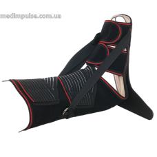 Иммобилизационная шина (деротационный сапожок) ReMed R7204 чёрный, серый