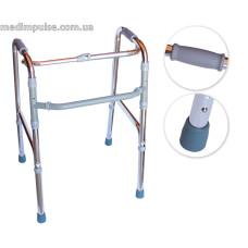 Ходунки шагающие для инвалидов и пожилых людей Dr.Frei GM913L. Надежная опора.