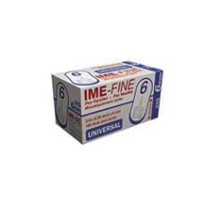 Универсальные иглы IME-Fine 6 мм 31G (0.26 мм) иголки к шприц-ручкам №100 (4260155930126)