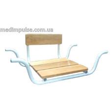 Сиденье для ванны MEDOK углубленное со спинкой MED-05-008