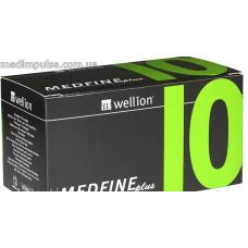 Универсальные иглы Wellion Medfine plus для инсулиновых шприц-ручек 10мм (31G x 0,25 мм) 100шт