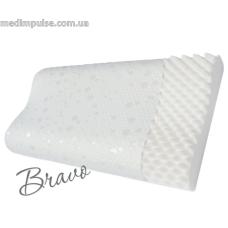 Ортопедическая подушка повышенного комфорта с охлаждающим эффектом (форма волны) Bravo (арт. P107-AIR) 590 x 364 x 110 мм