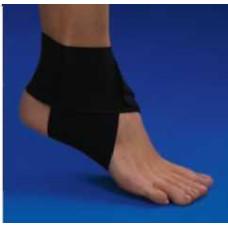 Бандаж на голеностопный сустав эластичный (белый), размер XL