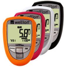 Глюкометр Wellion Luna Duo - Приборы для измерения глюкозы и холестерина!!Акция!! +тест-полоски №50 шт. (глюкоза)
