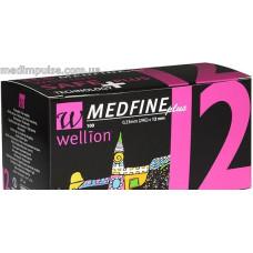 Универсальные иглы Wellion Medfine plus для инсулиновых шприц-ручек 12мм (31G x 0,25 мм) 100шт
