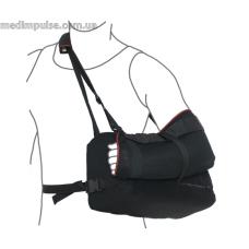 Бандаж для руки отводящий (ПОДУШКА) (арт. R9202) чёрный