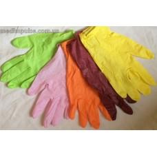 Перчатки STYLE COLOR LEMON нитриловые без пудры 100 шт/уп
