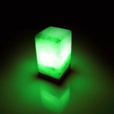 Соляная лампа SALTKEY BLOCK Green (Блок)