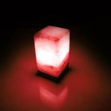 Соляная лампа SALTKEY BLOCK Red (Блок)