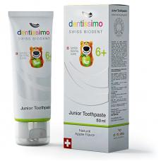 Зубная паста Junior With Apple Aroma - Зубная паста для детей от 6 лет (50 мл)