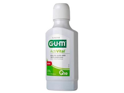 Распродажа!!!Ополаскиватель для ротовой полости GUM ActiVital, 300 мл